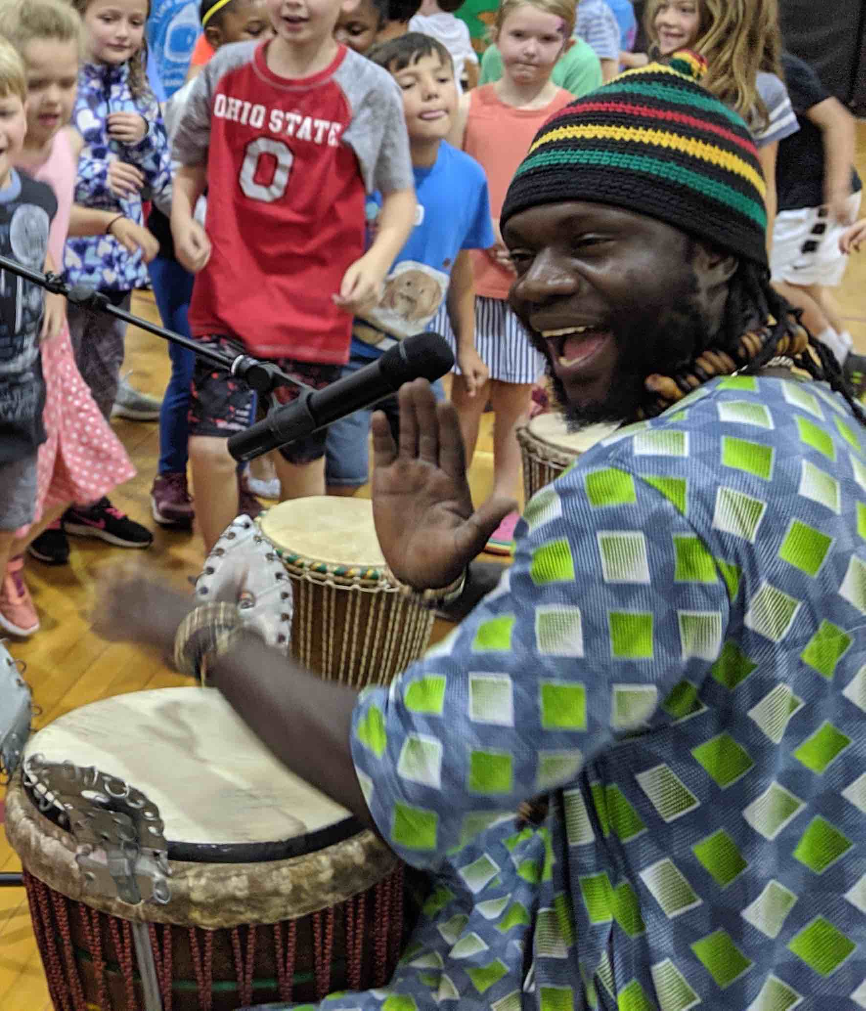 Diali Cissookho at Perry Harrison Elementary School