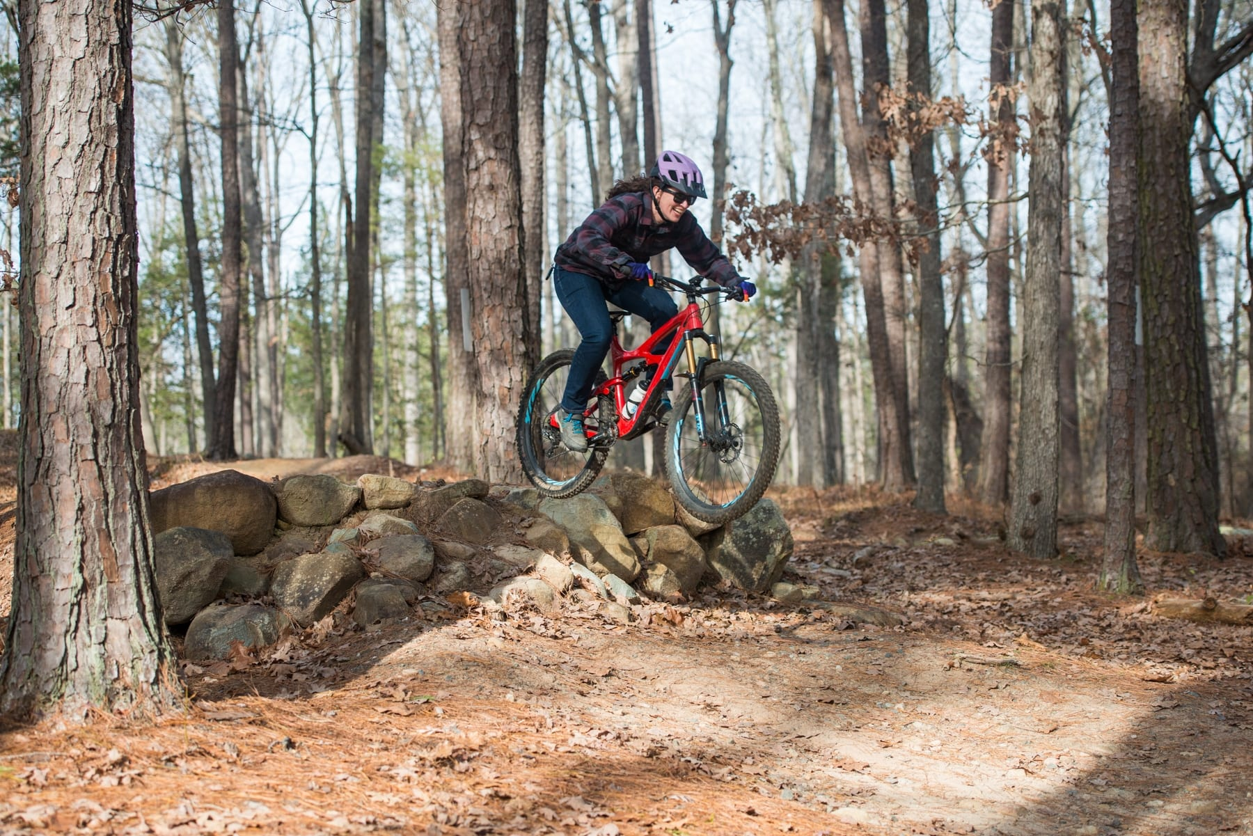 Mountain Biking Mom and Family Chatham County Magazine Dec 2019