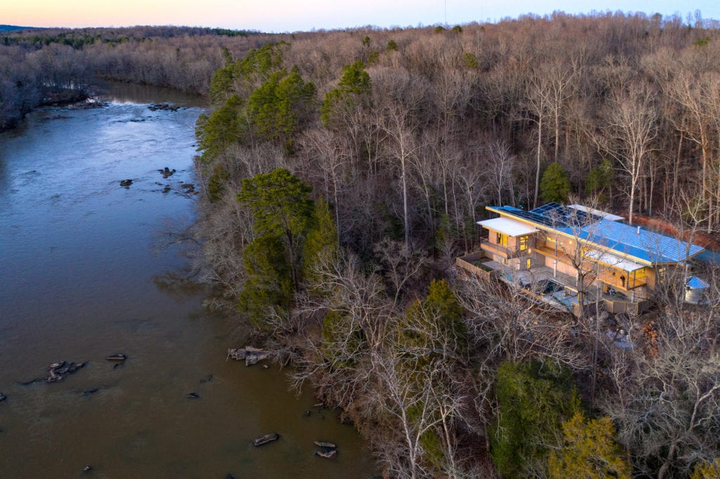 A Haw River Retreat with a Dream View