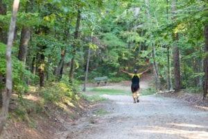 Person Running Outdoor Summer Activity Checklist Chatham County