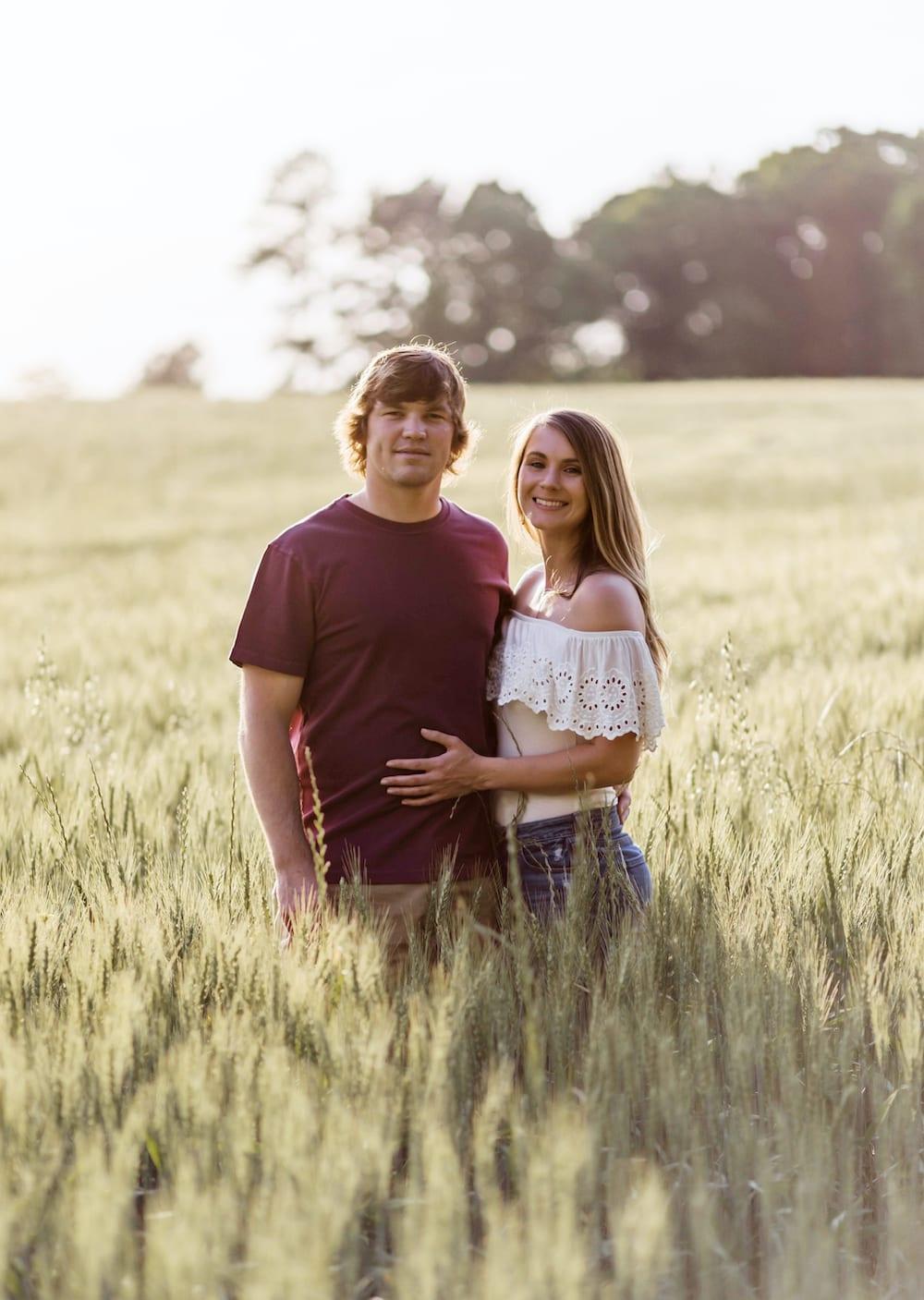 Trey Andrews and Lauren Gunter